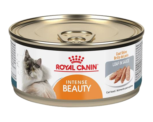 Picture of Royal Canin Intense Beauty Loaf in Sauce Canned Cat Food - 3 oz.