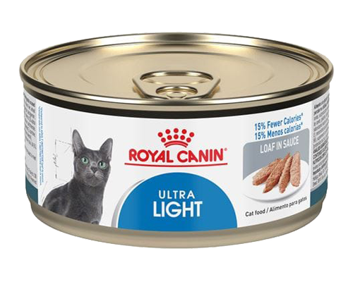 Picture of Royal Canin Ultra Light Loaf in Sauce Canned Cat Food - 3 oz.