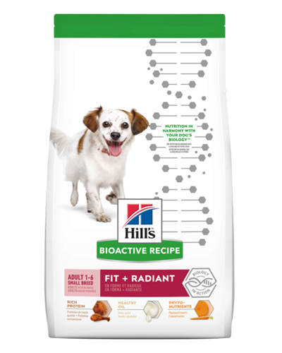 Picture of Hill's Bioactive Recipe Adult Small Breed Fit and Radiant - 11 lb.