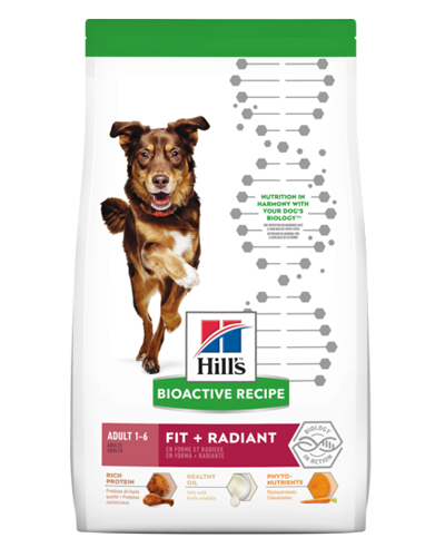 Picture of Hill's Bioactive Recipe Adult Fit and Radiant - 11 lb.