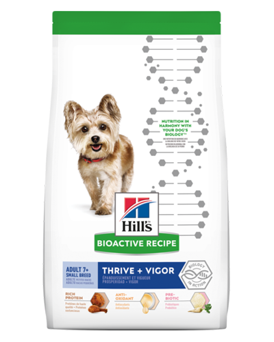 Picture of Hill's Bioactive Recipe Adult 7+ Small Breed Thrive and Vigor - 11 lb.
