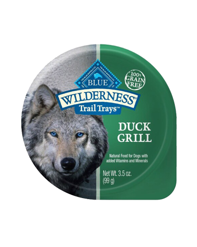 Picture of Blue Buffalo Wilderness Trail Trays Duck Grill Recipe - 3.5 oz
