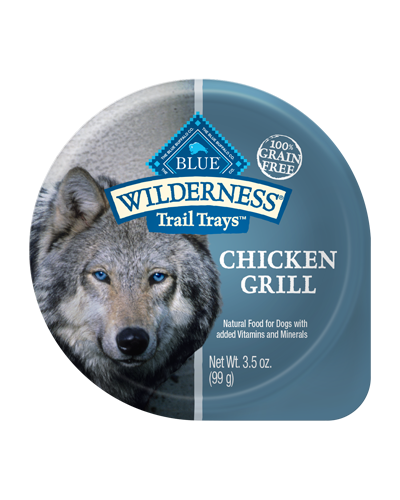 Picture of Blue Buffalo Wilderness Trail Trays Chicken Grill - 3.5 oz.