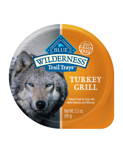 Picture of Blue Buffalo Wilderness Trail Trays Turkey Grill - 3.5 oz.