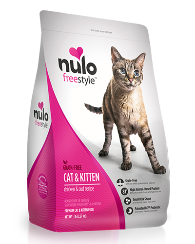 Picture of Nulo Freestyle Cat & Kitten Chicken and Cod - 12 lb.