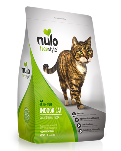 Picture of Nulo Freestyle Indoor Cat Duck and Lentils - 12 lb.