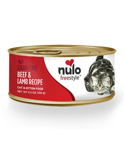 Picture of Nulo Freestyle Cat & Kitten Beef and Lamb Pate - 5.5 oz.