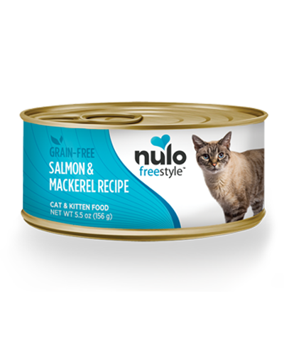 Picture of Nulo Freestyle Cat & Kitten Salmon and Mackerel Pate - 5.5 oz.