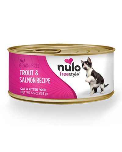 Picture of Nulo Freestyle Cat & Kitten Trout and Salmon Pate - 5.5 oz.