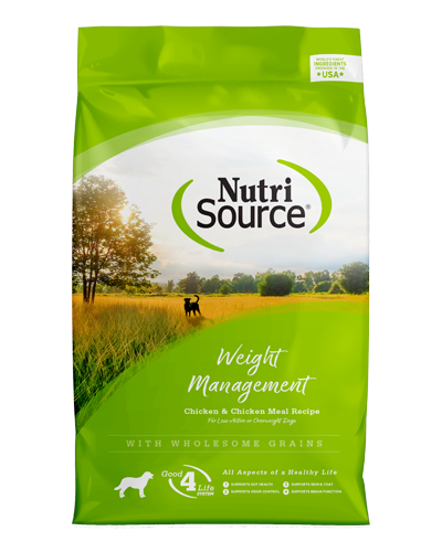 Picture of Nutrisource Weight Management Chicken Formula - 15 lbs