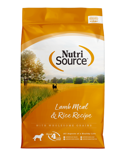 Picture of Nutrisource Adult Lamb Meal & Rice Formula - 5 lbs