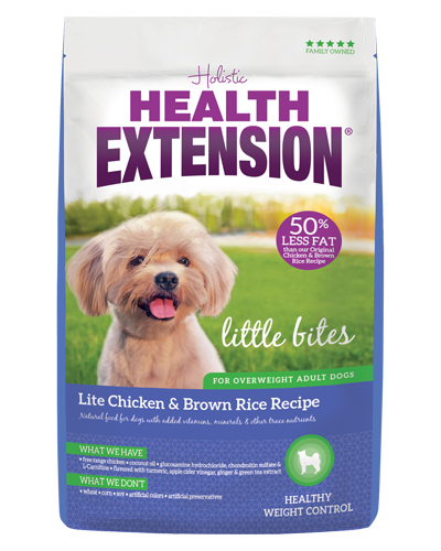 Picture of Health Extension Little Bites Lite Chicken and Brown Rice Recipe - 15 lb.