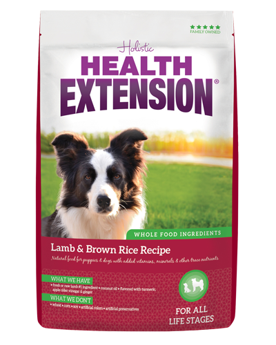 Picture of Health Extension Lamb and Brown Rice - 4 lb.