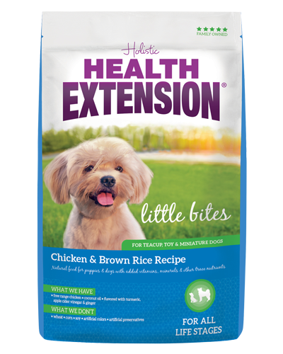 Picture of Health Extension Little Bites Chicken and Brown Rice Recipe - 18 lb.