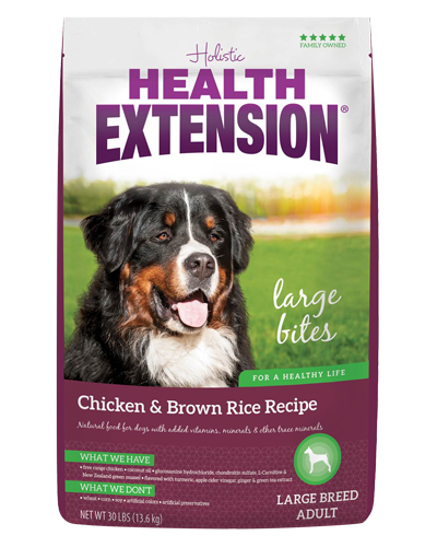 Picture of Health Extension Large Bites Chicken and Brown Rice Recipe - 30 lb.