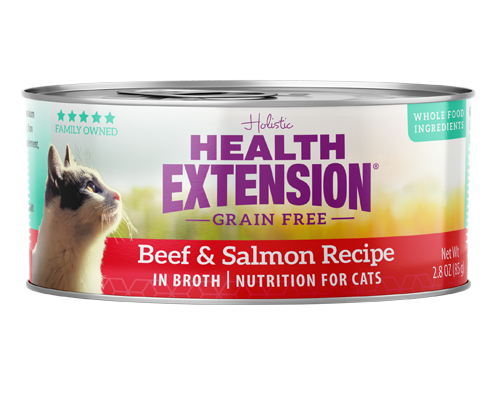 Picture of Health Extension Grain Free Beef and Salmon Recipe - 2.8 oz.