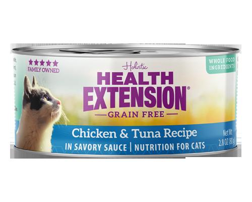 Picture of Health Extension Grain Free Chicken and Tuna Recipe - 2.8 oz.