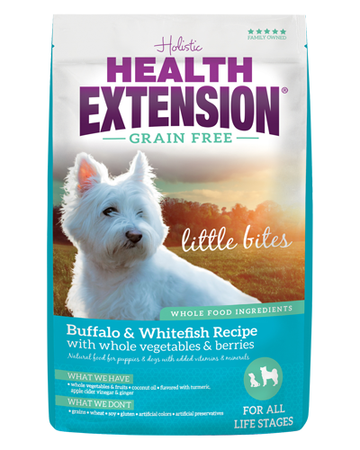 Picture of Health Extension Grain Free Little Bites Buffalo & Whitefish Recipe - 4 lb.