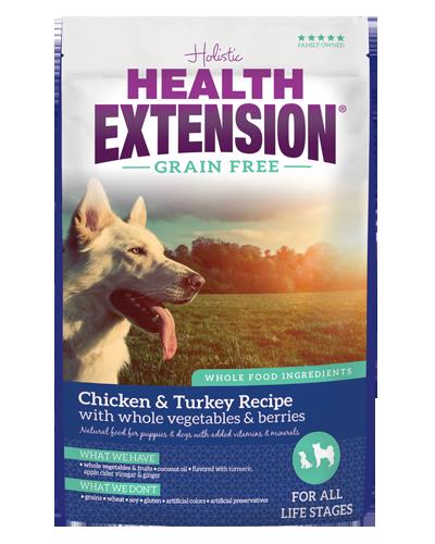 Picture of Health Extension Grain Free Chicken & Turkey Recipe - 4 lb.
