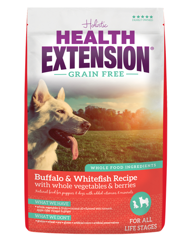 Picture of Health Extension Grain Free Buffalo & Whitefish Recipe - 10 lb.