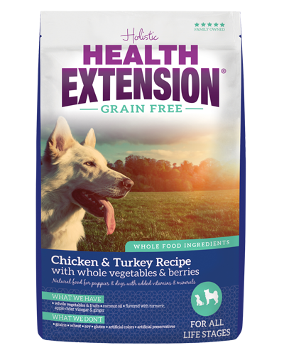 Picture of Health Extension Grain Free Chicken & Turkey Recipe - 10 lb.