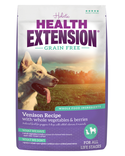 Picture of Health Extension Grain Free Venison Recipe - 23.5 lb.