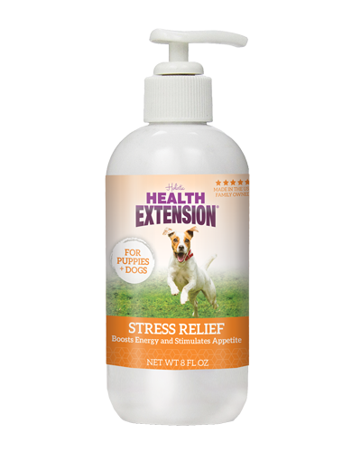 Picture of Health Extension Stress Relief Nutra Drops for Puppies and Dogs - 8 oz