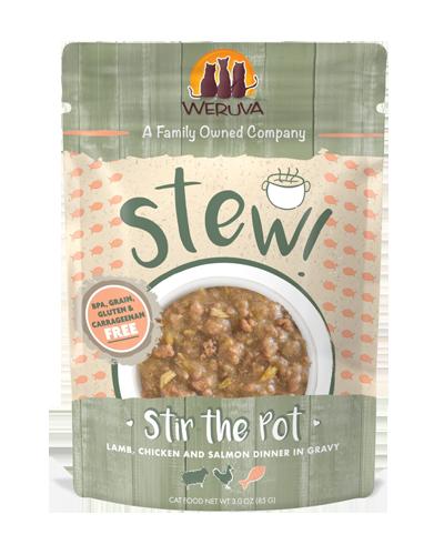 Picture of Weruva Stir The Pot Lamb, Chicken & Salmon in Gravy - 3 oz