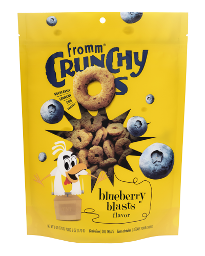 Picture of Fromm Crunchy O's Blueberry Blasts - 6 oz