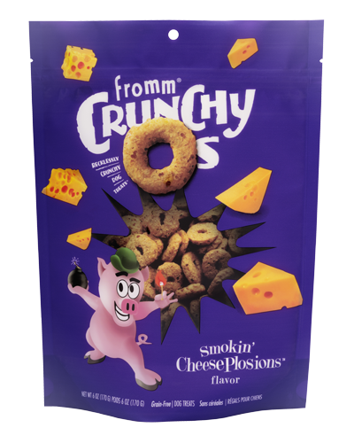 Picture of Fromm Crunchy O's Smokin' Cheeseplosions - 6 oz