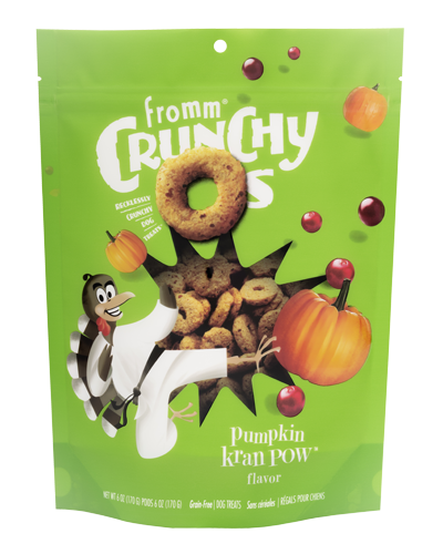 Picture of Fromm Crunchy O's Pumpkin Kran Pow - 6 oz