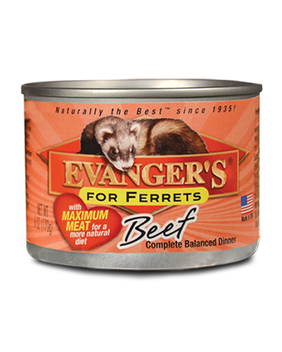 Picture of Evanger's Maximum Beef Dinner for Ferrets - 6 oz.