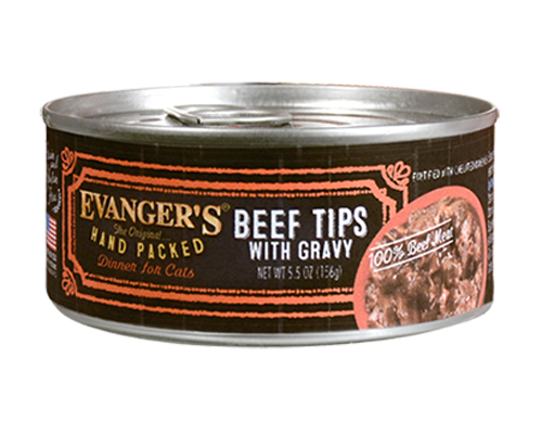 Picture of Evanger's Super Premium Beef Tips with Gravy Dinner - 5.5 oz.