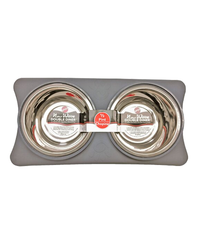 Picture of Ethical New Wave Double Diner 8 Ounce - Grey