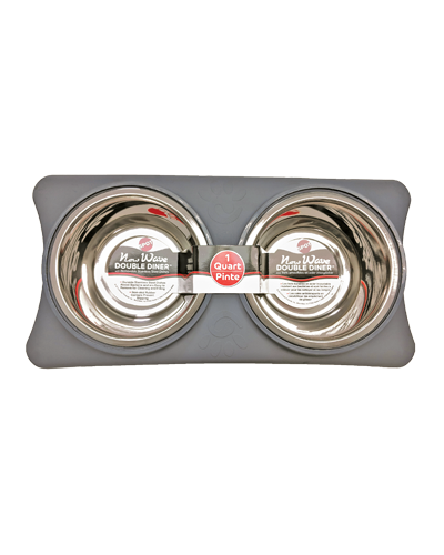 Picture of Ethical New Wave Double Diner 1 Quart - Grey