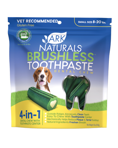 Picture of Ark Naturals Brushless Toothpaste Dental Chews Small - 12 oz