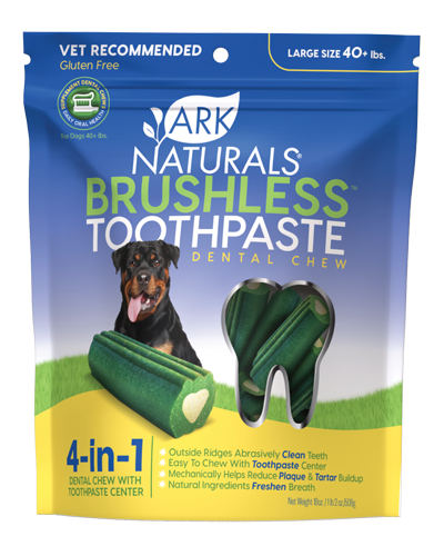 Picture of Ark Naturals Brushless Toothpaste Dental Chews Large - 18 oz