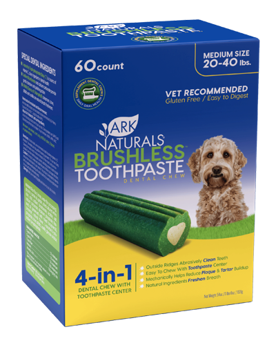 Picture of Ark Naturals Brushless Toothpaste Dental Chews Medium Value Pack - 54 oz