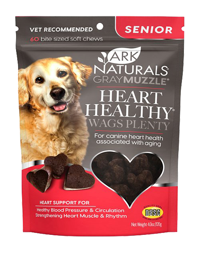 Picture of Ark Naturals Heart Healthy! Wags Plenty Soft Chews for Seniors - 60 Ct