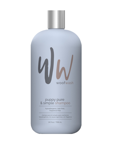 Picture of Woof Wash Puppy Pure & Simple Shampoo - 24 oz