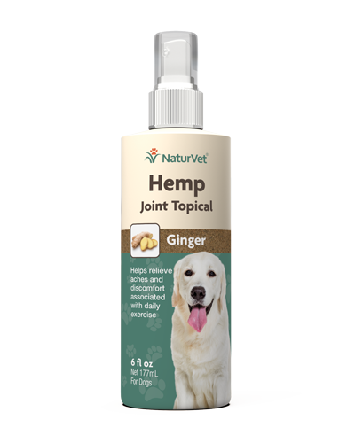 Picture of NaturVet Hemp Joint Topical with Ginger Spray - 6 oz