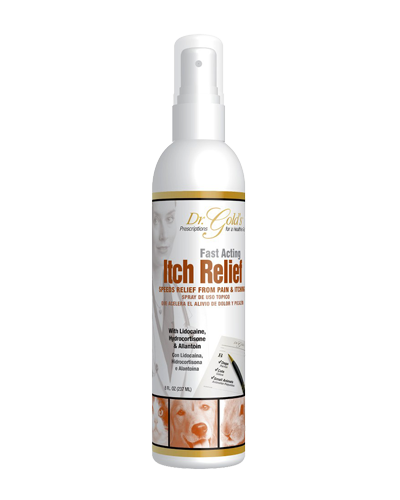 Picture of Dr. Gold's Itch Relief Spray - 8 oz