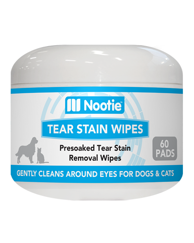 Picture of Nootie Tear Stain Wipes - 60 ct