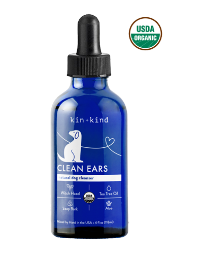 Picture of kin+kind Clean Ears Cleanser - 4 oz