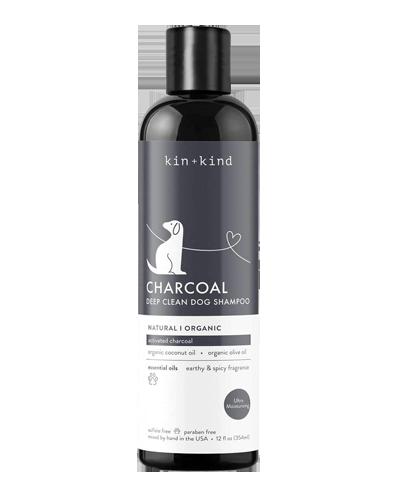 Picture of kin+kind Organic Charcoal Deep Clean Shampoo - 12 oz