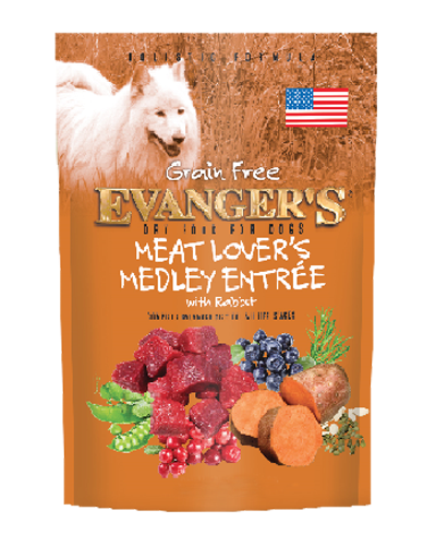 Picture of Evanger's Grain-Free Meat Lover's Medley with Rabbit - 4.4 lb.