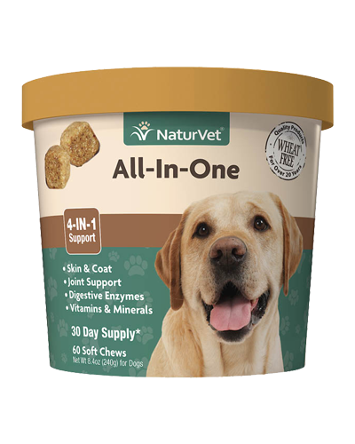 Picture of NaturVet All-In-One Support Soft Chews - 60 Ct