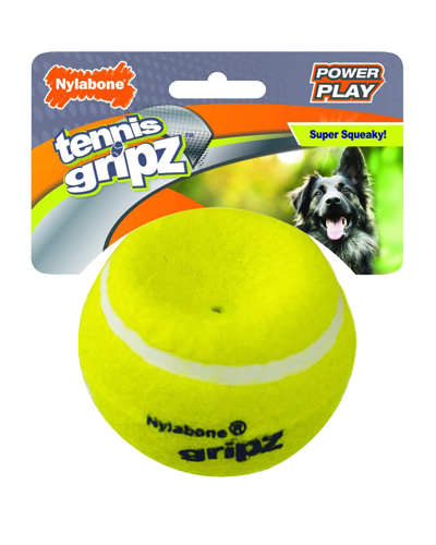 Picture of Nylabone Power Play Gripz Tennis Ball - Large 1 ct