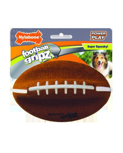 Picture of Nylabone Power Play Gripz Football - Medium