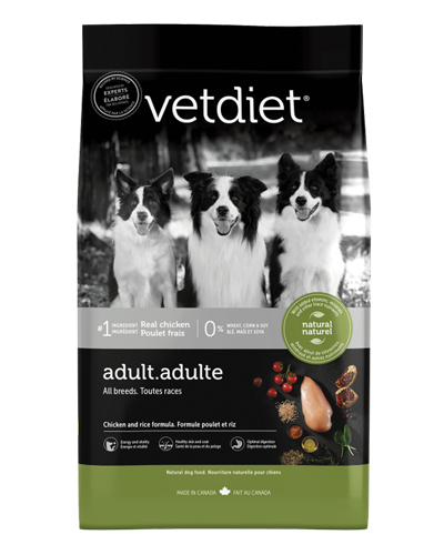 Picture of Vetdiet Adult Chicken & Rice Formula - 15 lb.